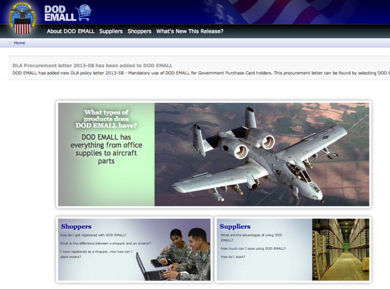 What is the DOD MALL_