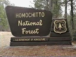 Homochitto_National_Forest_sign